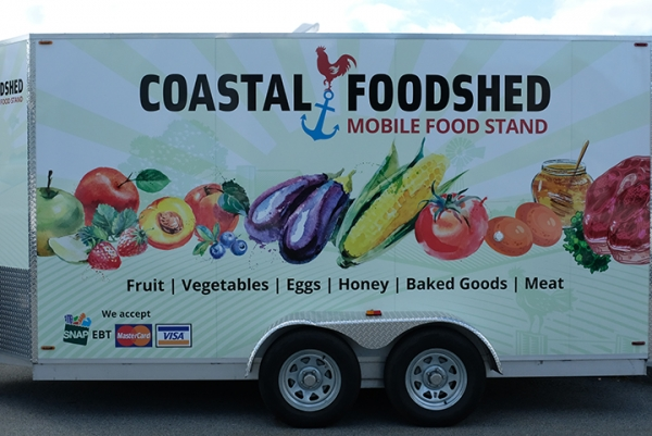 Coastal Foodshed trailer
