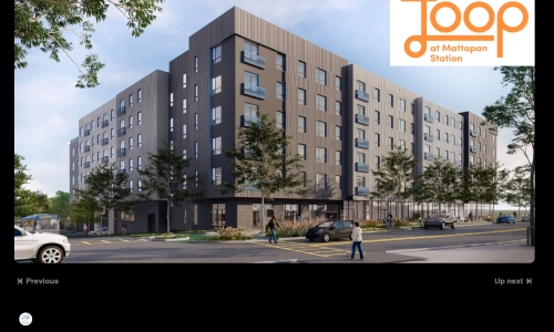 POAH releases 'virtual groundbreaking' video for The Loop at Mattapan Station in Boston
