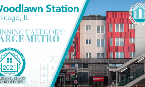Woodlawn Station in Chicago Honored with Affordable Housing Award From National Coalition